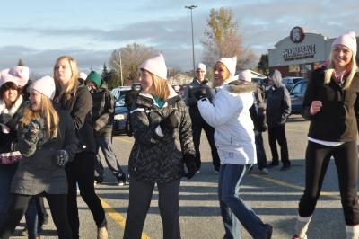 Bishop Students Walk for Mackenzie Rooney