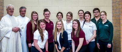 Sudbury Catholic Students Serving in the Love of Christ