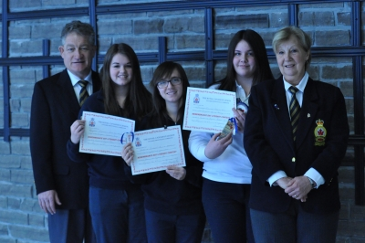 Bishop Alexander Carter students win honours in Royal Canadian Legion contest
