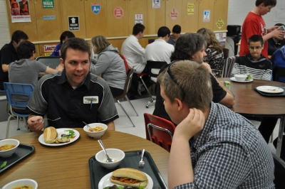 Bishop ACCSS Students and Staff Break Break Together
