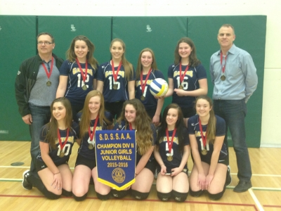 BACCSS – Div.II Girls Volleyball Champions