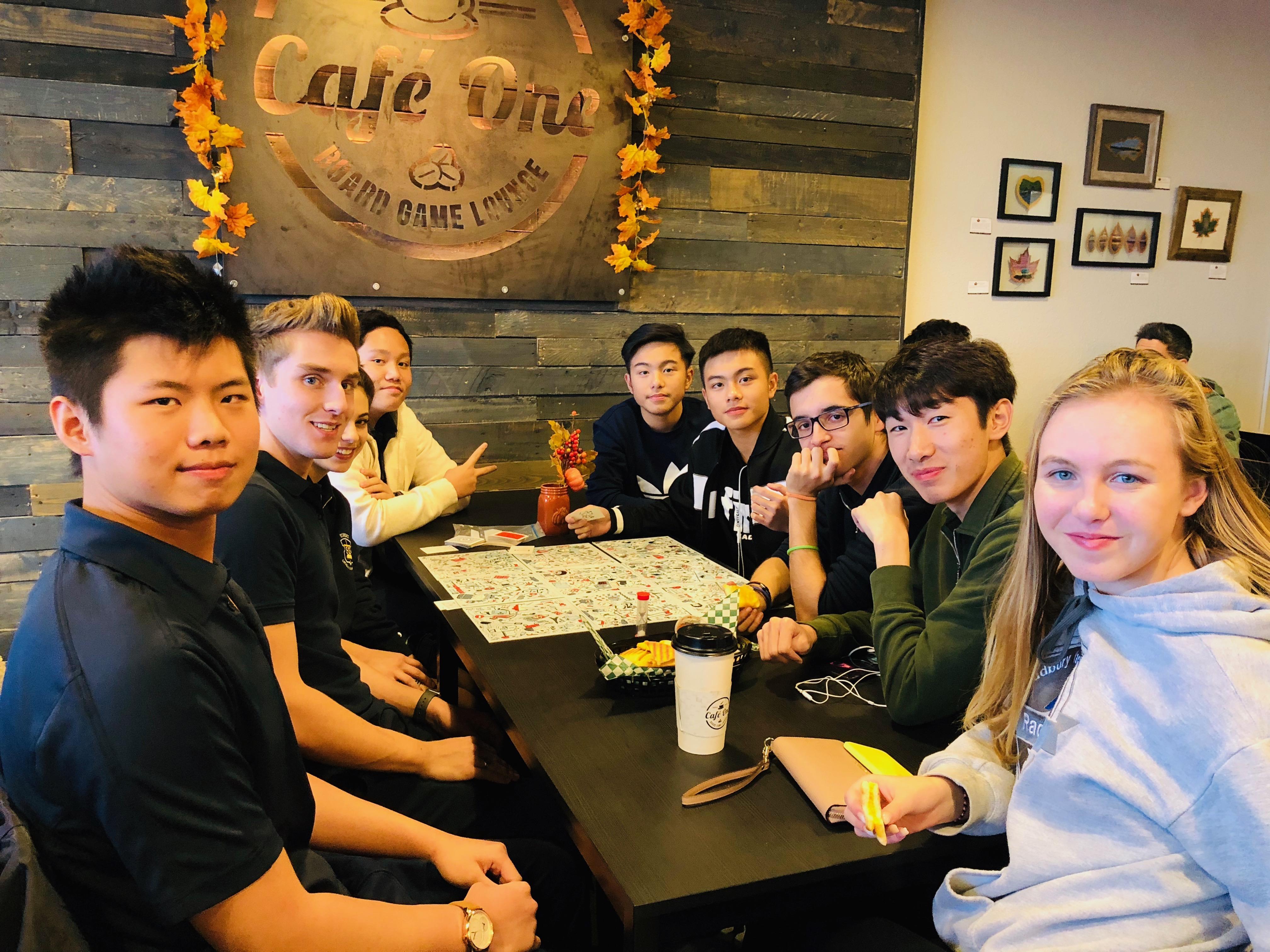 Student Senate organizes board game night for international students!