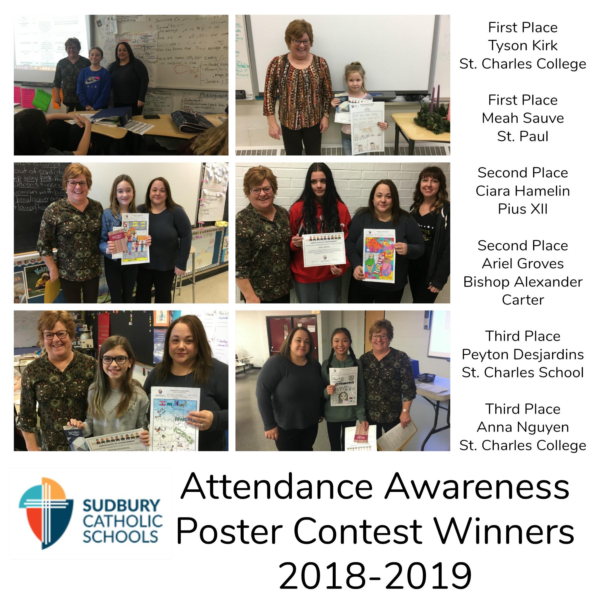 Attendance Awareness Poster winners announced!