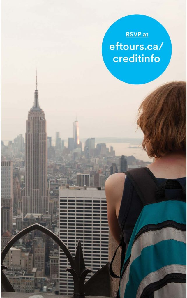 Travel the World While Earning Credit!