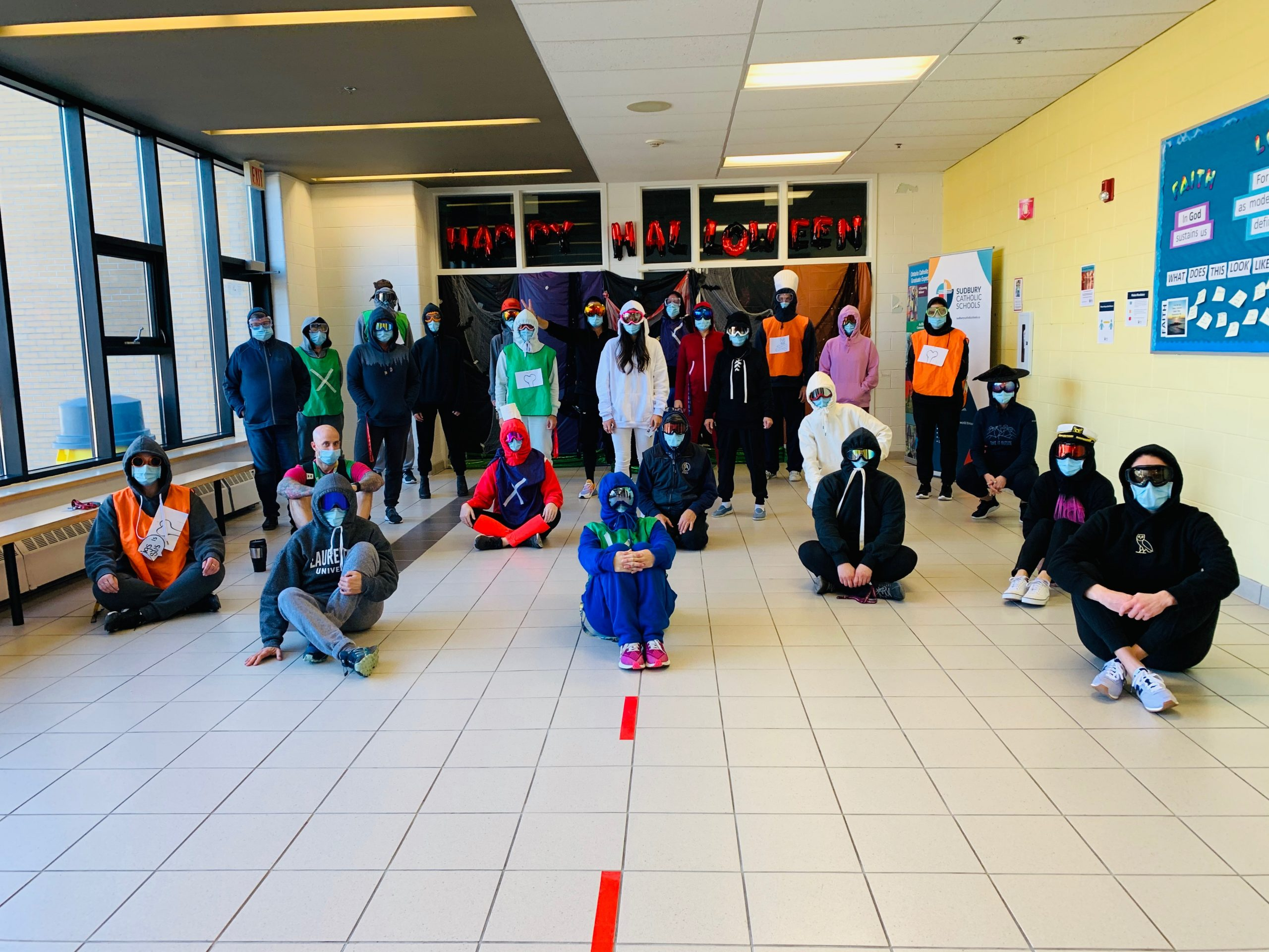 Staff and Students Celebrate Halloween as a School Community