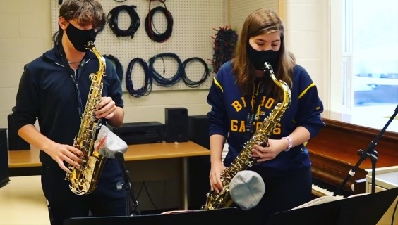 Two Bishop Alexander Carter Students Have Been Selected to Participate in the National Youth Band of Canada